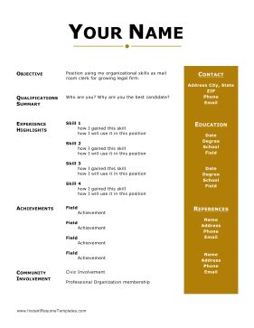 Functional Resume Format: Focusing on Skills and